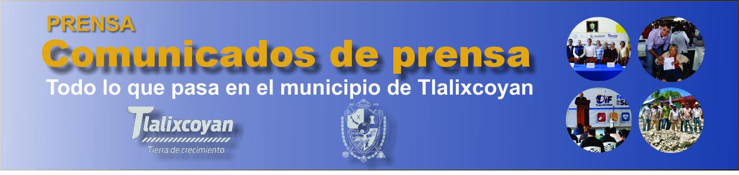 Comunicados de prensa Tlalixcoyan